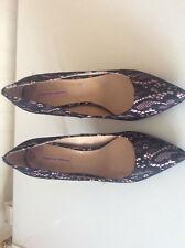 Dorothy Perkins Black Emily Female Shoes UK Sizes  5 & 6