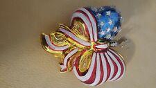 Christopher radko patriotic ornaments 2005 vintage