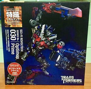Transformers Kaiyodo Revoltech 030 Optimus Prime Dark of The Moon takara tomy
