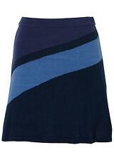 Rainbow falda de punto corto poliacrílico Azul Oscuro Talla 32/34 977357