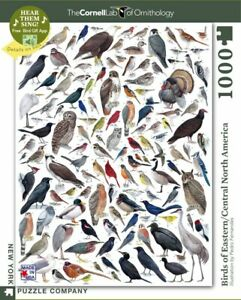 Birds of Eastern and Central North America 1000 Piece Puzzle 489mm x 676mm (nyp)