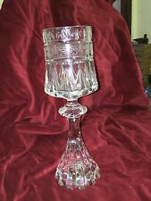 Peter Yenawine Lead Crystal Chalice Goblet Glass Ltd Edition  Wedding Cup French