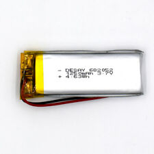 3.7V 1250 mAh 682052 Li-Polymer Rechargeable Battery Li Po for GPS Bluetooth MP3