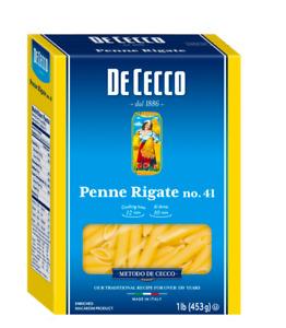 De Cecco dry pasta Penne Rigate N.41 - 1 Lb (PACK OF 3)