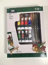 Royal & Langnickel 13 Piece Oil Art Pack - NEW BOXED with brushes