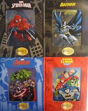 Marvel Magical Story Book With '3D' Metallic Cover (Batman, Spiderman, Avengers)