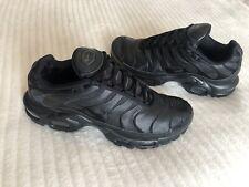Black Nike TN Trainers Size Uk 8