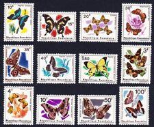 Rwanda Butterflies 12v MNH SG#112-123 SC#114-125