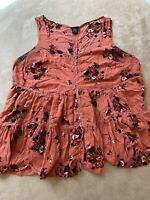 Torrid Women's 0 Large Sleeveless Blouse Top 0X Plus Size