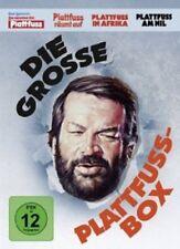 BUD SPENCER-DIE PLATTFUSS-BOX (PLATTFUSS RÄUMT AUF/P. IN AMERIKA/+) 4 DVD NEU