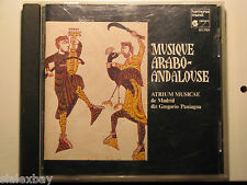 Musique Arabo-Andalouse - Atrium Musicae de Madrid; Gregorio Paniagua CD 1977