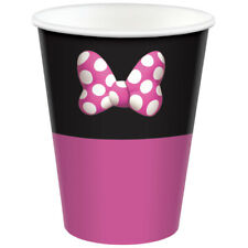 Minnie Mouse Forever 266ml Birthday Party Supplies Paper Cups Pck of 8
