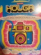 Holga Camera 35mm 120 CFN Lomography Flash Camera Starter Kit NEVER USED