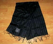 MENS **JASPER CONRAN**  Striped 100% Silk  SCARF BNWT