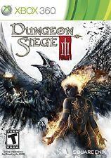 Dungeon Siege 3 III *Brand New* (Microsoft Xbox 360, 2011)