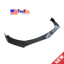 Carbon Fiber Car Front Bumper Lip Chin Spoiler Splitter Body Kit For Universal (Fits: Honda)