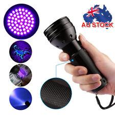 51 LED UV Flashlight Torch Light Lamp Ultraviolet Blacklight Aluminum 395 nM AU
