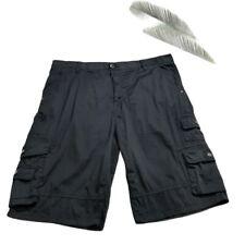 I Jeans By Buffalo Black Cargo Men's Shorts 40