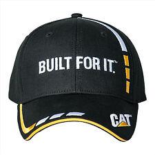 Caterpillar CAT Black Built For It Cap