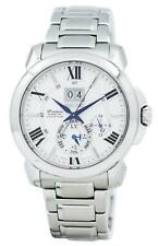 Homme Neuf de la Marque SEIKO PREMIER KINETIC Watch SNP159P1 RRP £ 730