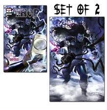 THOR #6 GREG HORN COVER A & B VIRGIN VARIANT COMIC LOT SET BLACK WINTER CATES 1