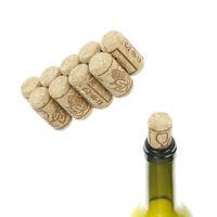 10pcs Straight Bottle Wood Corks Wine Bottle Stoppers Corks Wine Bottle PlugCYN