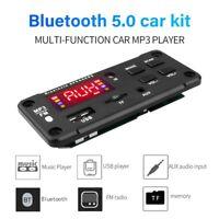 Bluetooth 5.0 Car Decoder Board MP3 Player FM Radio Audio Module Remote Nett