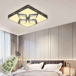 Dimmbar 48W-72W LED Deckenleuchte Badleuchte Wohnzimmer Küche Schlafzimmer Lampe