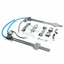 Flat Glass Window Switch Kit for 48-56 F1 F100 Ford Truck w/Billet Crank Handles