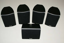 5x Teufel CE20FCR * 2-Wege Stereo Surround Lautsprecher * 4 Satelliten +1 Center