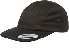 YuPoong Classic 7005 Plain 5 Panel Strapback Hats Jockey Camper Cap Low Profile