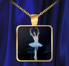 Prima Ballerina Necklace - Great Dance Gift! - FREE SHIPPING!