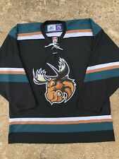 Manitoba Moose - Reebok AHL Hockey Jersey - Size XL - made In Canada