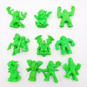 Monster In My Pocket Lot Series 2 Neon Green 10 Figures 53 54 60 66 MIMP 1992