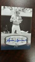2004 UD Timeless Teams GENE TENACE Auto  SP # 124  Short Print  !
