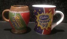 Cadbury Creme Egg Mugs X2 Collectable