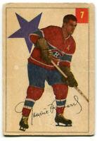 1954/55 Parkhurst Maurice Rocket Richard Card #7 Montreal Canadiens