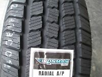 2 New 235/70R16 Ironman Radial A/P Tires 235 70 16 R16 2357016 70R OWL