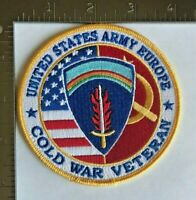 UNITED STATES ARMY EUROPE COLD WAR VETERAN PATCH