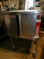 Blodgett Mark V Electric Convection Oven on Stand Commercial Bakery Digital Menu
