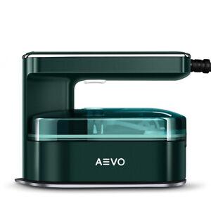 AEVO Portable Steam Iron for Clothes Handheld Garment Steamer Ironing Machine