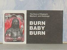BURN BABY BURN CHICK CHRISTIAN/ GOSPEL TRACT  1991  JACK CHICK PUBLICATIONS