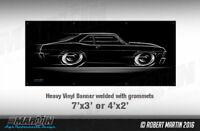 Big Banner Chevy Nova 1968 1969 1970 1971 1972 Chevrolet SS 68 69 70 71 72 Sign