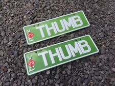 Victoria number plates - Green THUMB