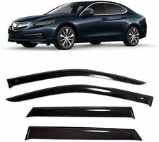 For Acura TLX Sd 2014- Window Visors Side Sun Rain Guard Vent Deflectors