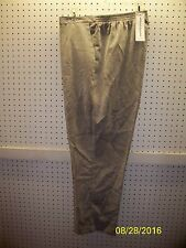 ALFRED DUNNER Misses 18 Medium Alpine Lodge Silver CORDUROY Pants FREE Shpg NWTA