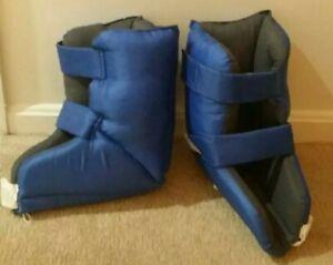 2 MEDLINE Heel Raiser Pro II Padded Bedrest Boots Heel Protectors》Elevate Feet