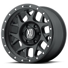 KMC XD BULLY 16X8 Satin Black Alloy Mag Wheel Rim suit Landcruiser Patrol Hilux