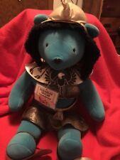 "North American Bear Vib 22"" Elizabeth Taylor Cleopawtra 1979 with Tags & Hat"