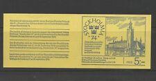 Sweden 1972 SG 700-4 Stockholmia 74 Railway booklet MNH